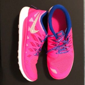 Nike New Bright neon pink sneakers